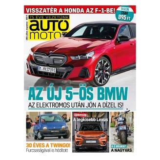Autó Motor kéthetente megjelenő autókkal foglalkozó magazin