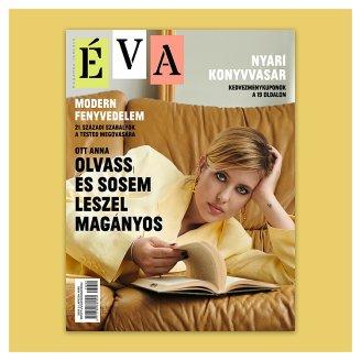 Éva havonta megjelenő női magazin