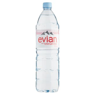 Evian Non-Carbonated Natural Mineral Water 1,5 l