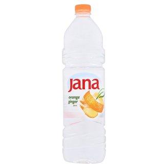 Jana narancs és gyömbér ízű energiaszegény szénsavmentes üdítőital cukorral és édesítőszerrel 1,5 l