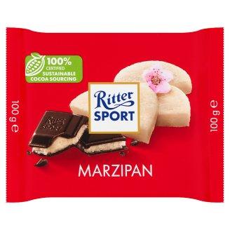 Ritter Sport marcipánnal töltött étcsokoládé 100 g
