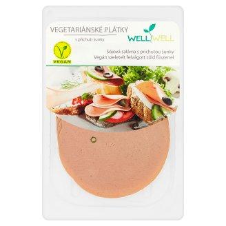 Well Well vegán szeletelt felvágott zöld fűszerrel 100 g
