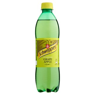 Schweppes Low-Energy Grape Carbonated Soft Drink with Apple Flavour 0,5 l