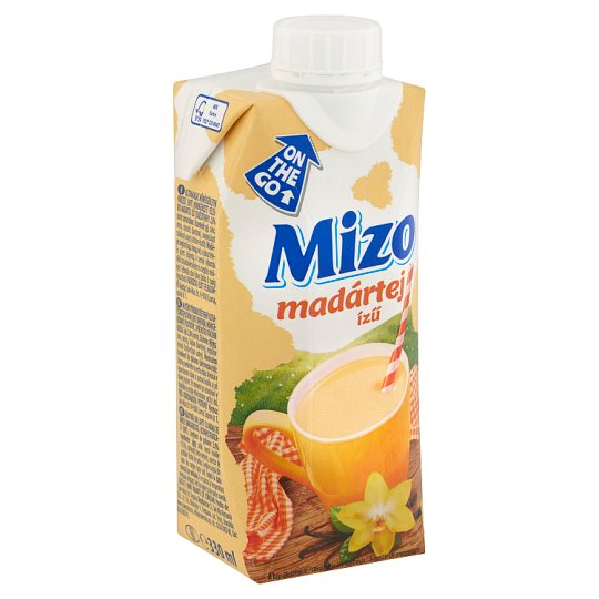 Mizo UHT félzsíros madártej ízű tejkészítmény 2,8% 330 ml