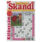 Kedvenc Skandi kéthetente megjelenő keresztrejtvényeket tartalmazó magazin