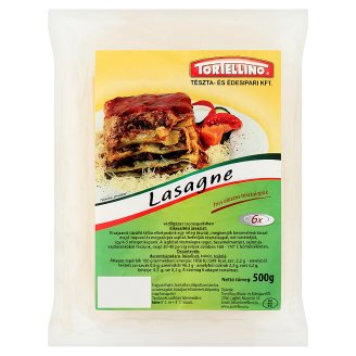 Tortellino Lasagne friss olaszos tésztalapok 500 g