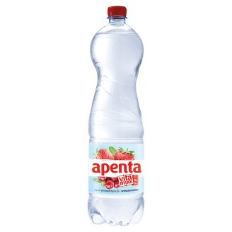 Apenta Vitamixx eper-vörösáfonya ízű szénsavmentes üdítőital cukrokkal és édesítőszerekkel 1,5 l