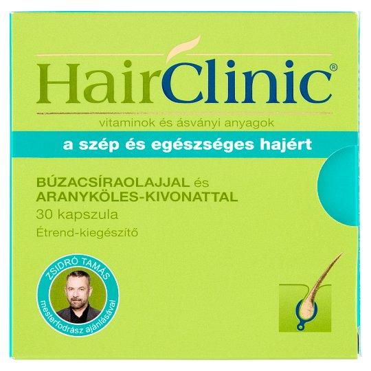 HairClinic étrend-kiegészítő kapszula búzacsíraolajjal és aranyköles-kivonattal 30 db 21,6 g