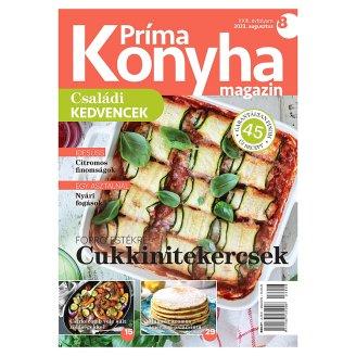 Príma konyha magazin havonta megjelenő gasztronómiával foglalkozó magazin