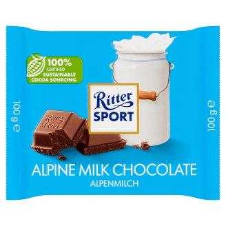 Ritter Sport Alpine Milk Chocolate 100 g