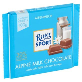 Ritter Sport alpesi tejcsokoládé 100 g