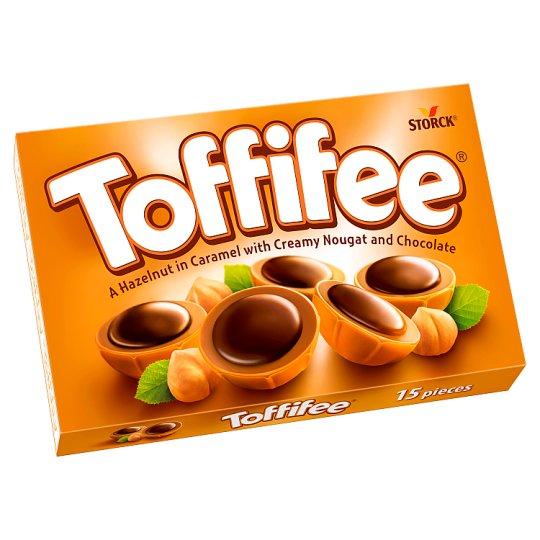 Toffifee mogyoró karamellben, mogyorós nugátkrémmel és csokoládéval 125 g