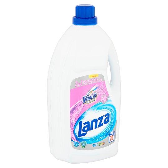 Lanza Vanish 2in1 Power Gel Colors mosószer + folteltávolító gél színes ruhákhoz 70 mosás 4,62 l