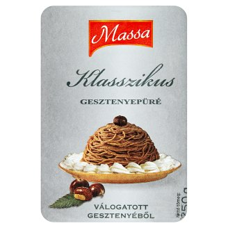 Massa Classic Quick-Frozen Chestnut Puree 250 g