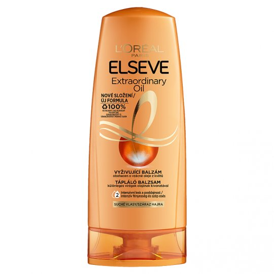 L'Oréal Paris Elseve Extraordinary Oil Nourishing Balm for Dry, Dull, Rough Hair 200 ml