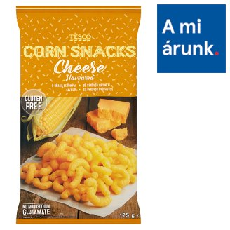 Tesco Cheese Flavoured Corn Snacks 125 g