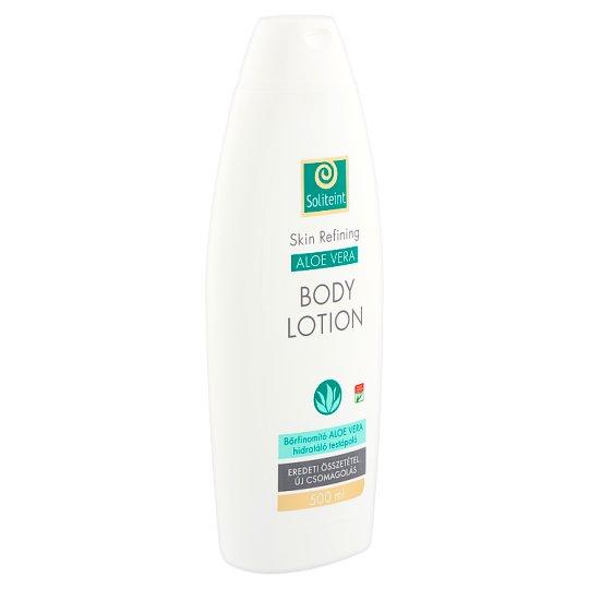 Soliteint bőrfinomító aloe vera hidratáló testápoló 500 ml