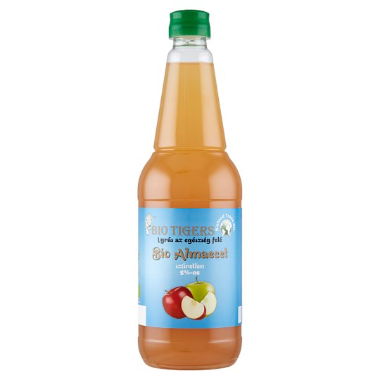 Bio Tigers Unfiltered Organic Apple Vinegar 5% 750 ml