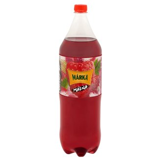 Márka Raspberry Carbonated Soft Drink with Sugar and Sweeteners 2 l