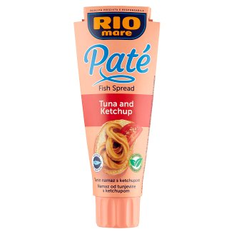 Rio Mare Paté ketchupos tonhal pástétom 100 g