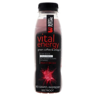 Body&Future Vital Energy Non-Carbonated Multisort Fruit Drink 330 ml