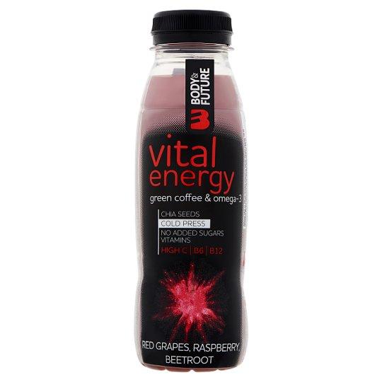 Body&Future Vital Energy Non-Carbonated Multisort Fruit Drink 330 ml