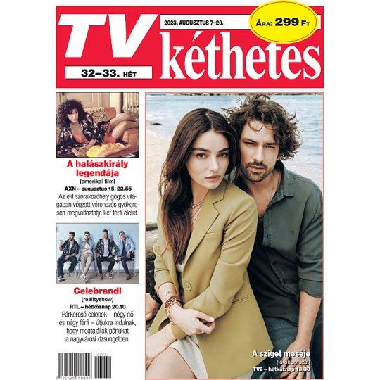 TV Kéthetes kéthetente megjelenő televízió műsorokat bemutató magazin