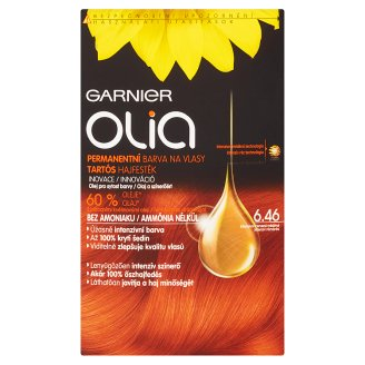Garnier Olia 6.46 intenzív rézvörös tartós hajfesték