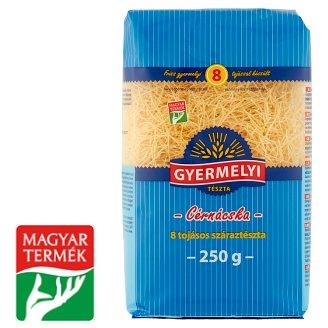 Gyermelyi Angel Hair Dry Pasta with 8 Eggs 250 g