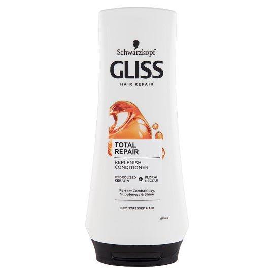 Gliss Kur hajregeneráló balzsam Teljeskörű regeneráló 200 ml