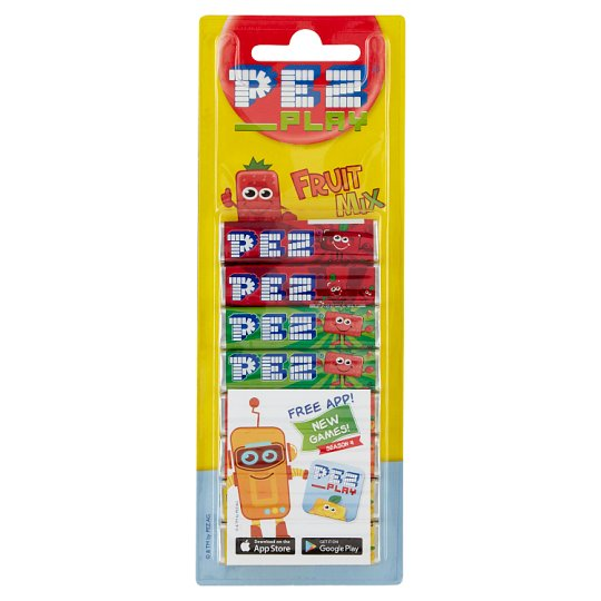 Pez Mixed Fruit Flavoured Hard Candies 8 x 8,5 g