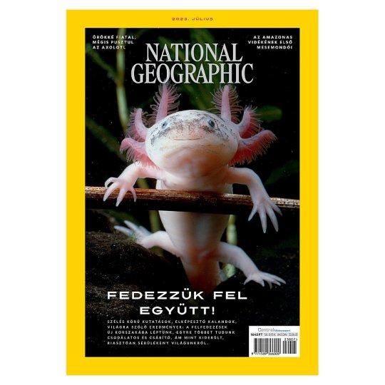 National Geographic havonta megjelenő tudomány és a kultúra aktualitásait bemutató magazin