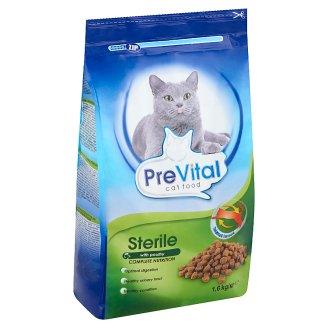 PreVital teljes értékű száraz állateledel steril macskák számára 1,6 kg