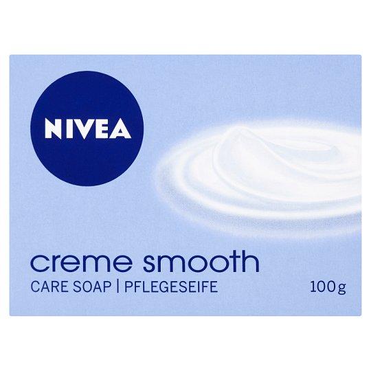 NIVEA Creme Smooth krémszappan 100 g