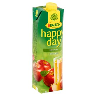Rauch Happy Day 100% Apple Juice 1 l