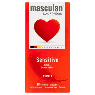 Masculan Sensitive Condoms 10 pcs