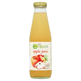 Tesco Organic Apple Juice 500 ml
