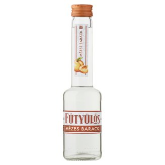 Fütyülős Peach Liqueur with Honey 30% 0,2 l