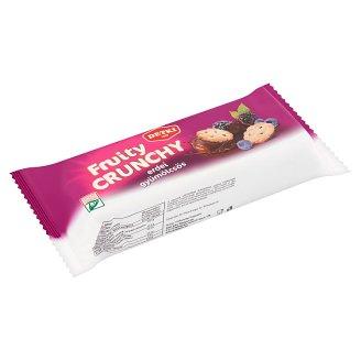 Detki Fruity Crunchy erdei gyümölcsös teasütemény kakaós étbevonómasszával félig mártva 150 g