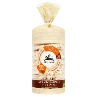 Alce Nero Rice Crackers with 6 Grain 100 g