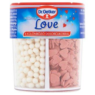 Dr. Oetker Dekormix Love Edible Sugar Decorations 84 g