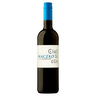 Maczkó Villányi Portugieser száraz classicus vörösbor 12,5% 750 ml
