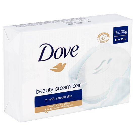 Dove Beauty Cream Bar Cream Soap 2 x 100 g