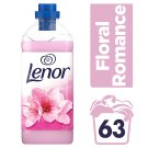Lenor Fabric Conditioner Floral Romance 1.9L 63 Washes