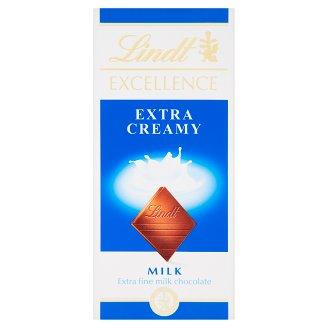 Lindt Excellence extra finom tejcsokoládé 100 g