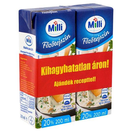 Milli Perfecto UHT Cooking Cream 2 x 200 ml
