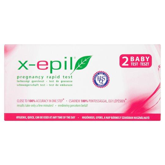 X-Epil terhességi gyorsteszt 2 db