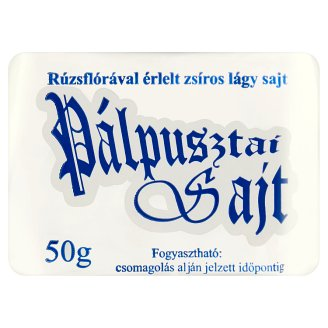 Pálpusztai Soft Fat Cheese 50 g