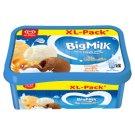 Big Milk Trio Caramella karamell ízű, vanília-tejszín ízű jégkrém és csokoládés jégkrém 1400 ml