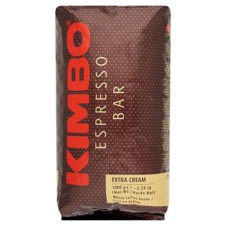Kimbo Espresso Bar Extra Cream Whole Coffee Beans 1000 g